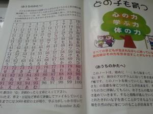 仮名文字練習帳「4」